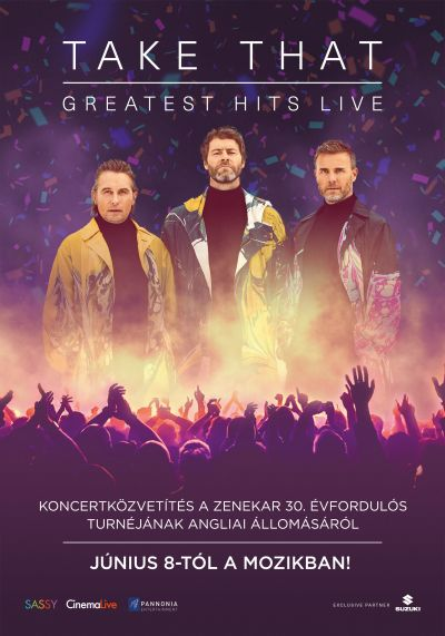 Take That: Greatest Hits Live – Plakát