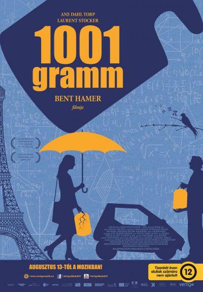 1001 gramm – Plakát