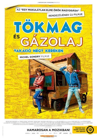 Tökmag és Gázolaj - Vakáció négy keréken – Plakát