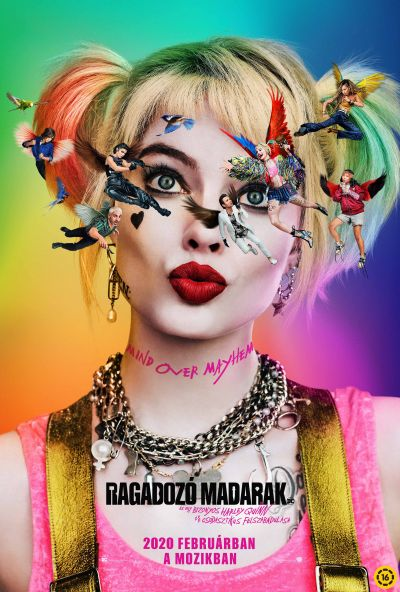 Ragadozó madarak (és egy bizonyos Harley Quinn csodasztikus felszabadulása) – Plakát