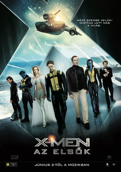 X-Men: Az elsők – Plakát