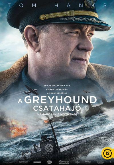 A Greyhound csatahajó – Plakát