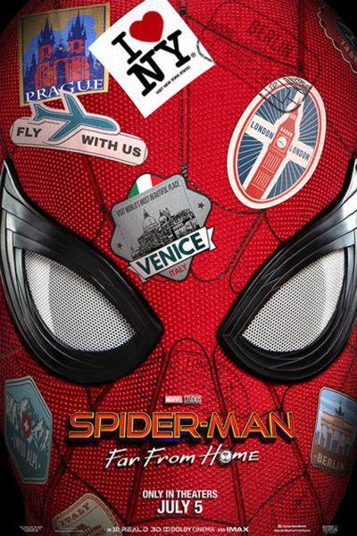 Pókember: Idegenben – Plakát