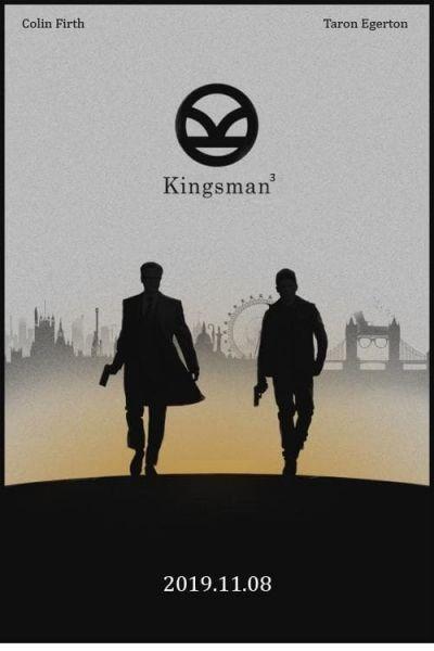 Kingsman 3 – Plakát