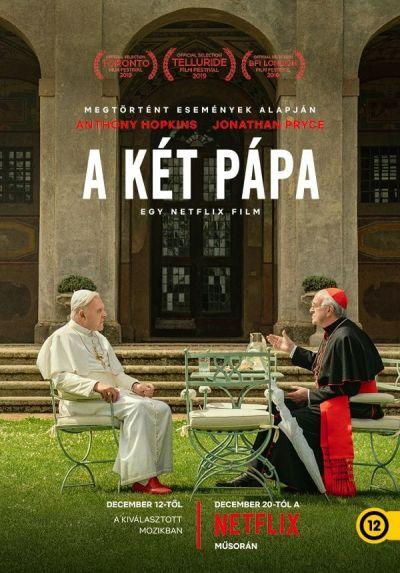 A két pápa – Plakát
