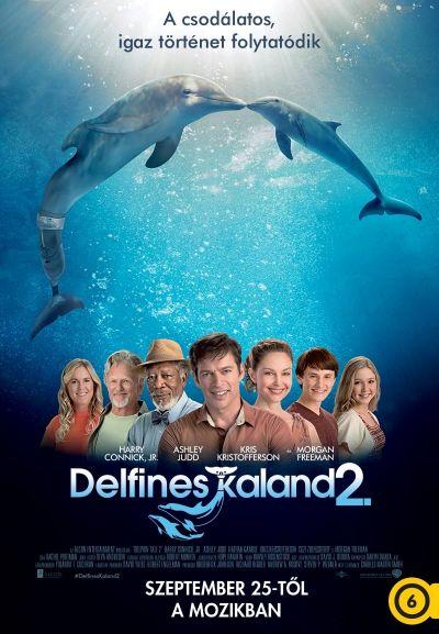 Delfines kaland 2. – Plakát