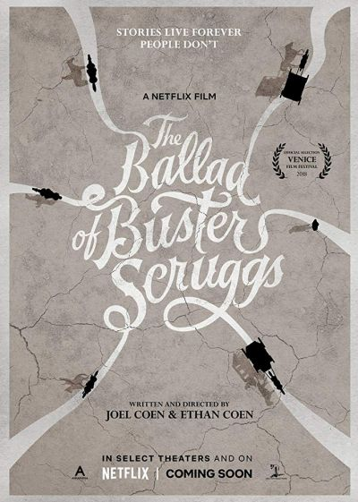 The Ballad of Buster Scruggs – Plakát