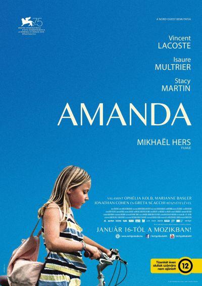 Amanda – Plakát
