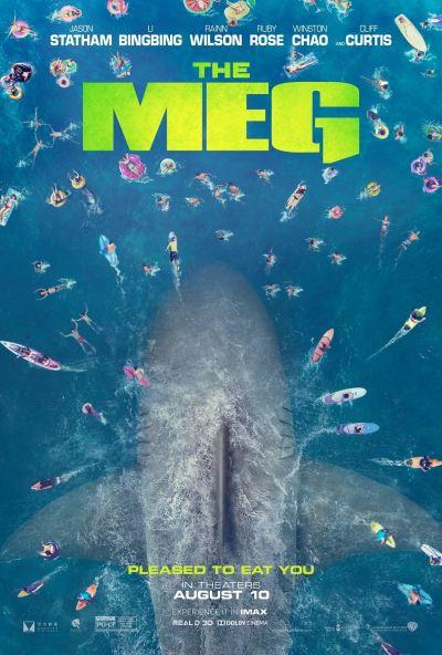 MEG - Az őscápa – Plakát