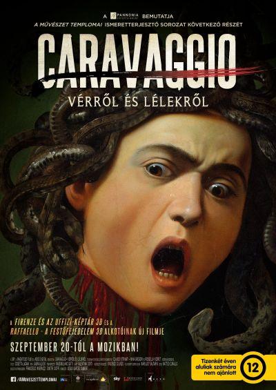 A művészet templomai: Caravaggio - Vérről és lélekről – Plakát