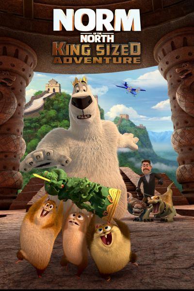 Norm, az északi 3. – A királyi kincskeresés – Plakát
