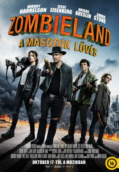Zombieland - A második lövés – Plakát