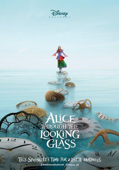 Alice Tükörországban – Plakát