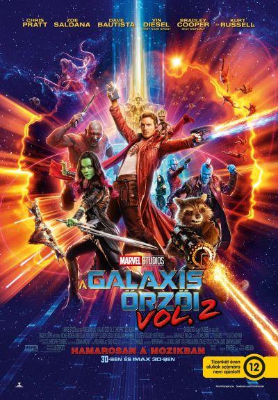 A Galaxis Őrzői vol. 2 – Plakát