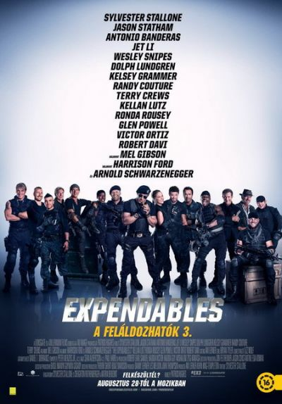 The Expendables - A feláldozhatók 3. – Plakát