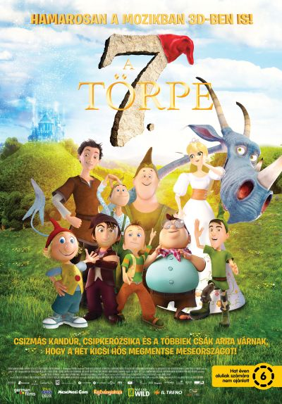 A 7. törpe – Plakát