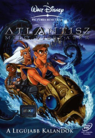 Atlantisz 2. - Milo visszatér – Plakát