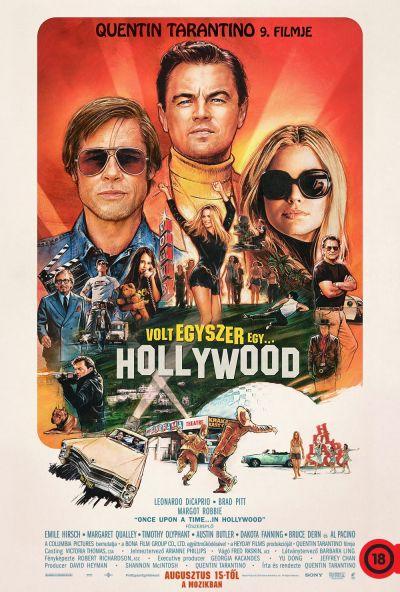 Volt egyszer egy... Hollywood – Plakát