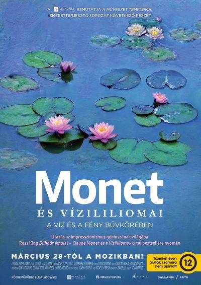A művészet templomai: Monet és vízililiomai - A víz és a fény bűvkörében – Plakát