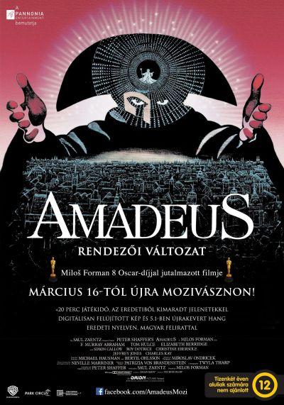 Amadeus - Rendezői változat – Plakát