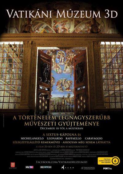 A művészet templomai: Vatikáni múzeum 3D – Plakát