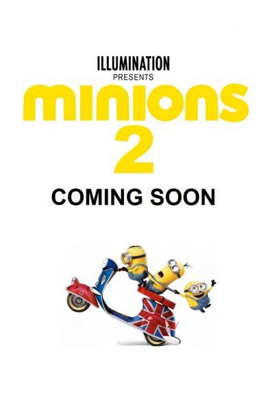 Minyonok 2 – Plakát