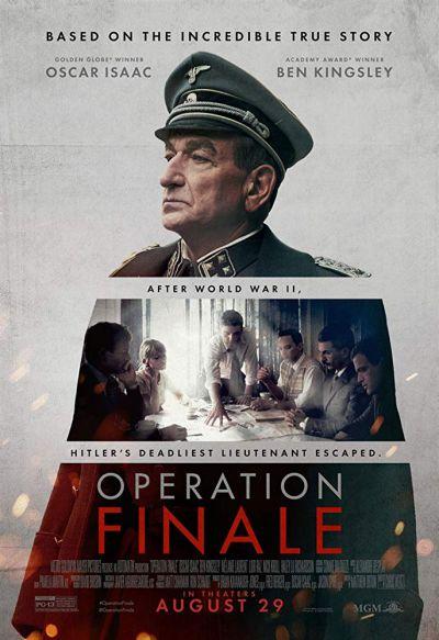 Operation Finale – Plakát