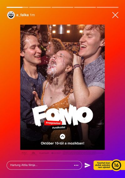 FOMO (Fear of Missing Out) – Plakát