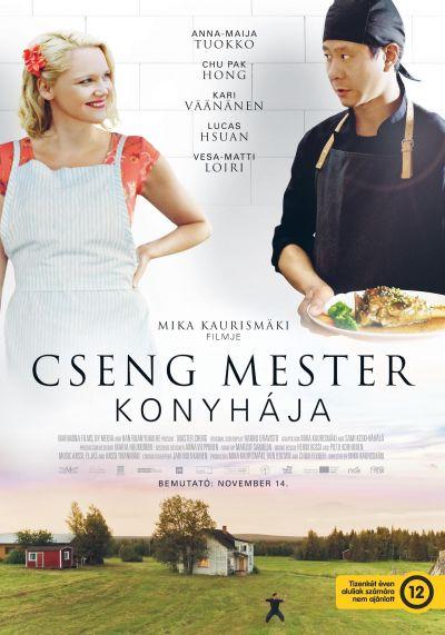 Cseng mester konyhája – Plakát