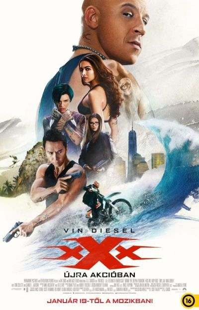xXx: Újra akcióban – Plakát