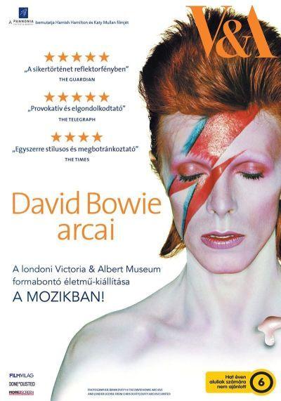 David Bowie arcai – Plakát
