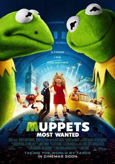 Muppets Most Wanted – Plakát