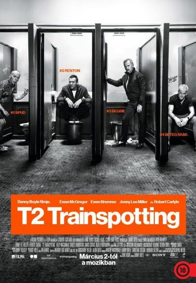T2 Trainspotting – Plakát