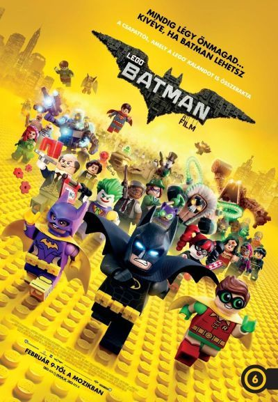 Lego Batman - A film – Plakát