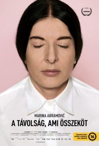 Marina Abramovic - A távolság, ami összeköt – Plakát