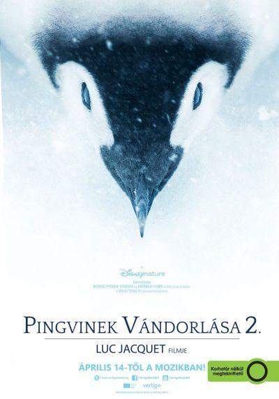 Pingvinek vándorlása 2. – Plakát