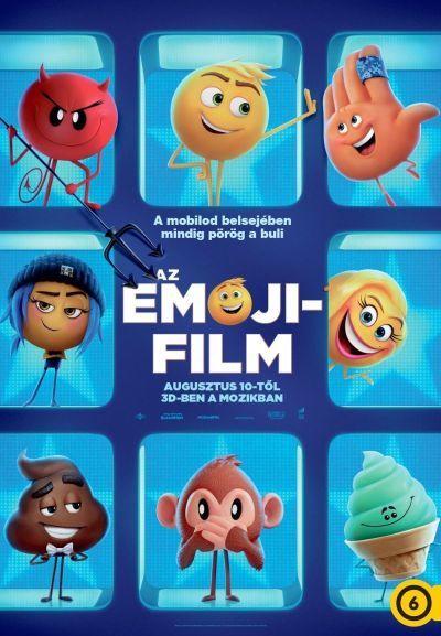 Az Emoji-film – Plakát