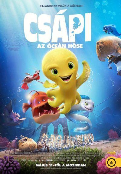 Csápi: Az óceán hőse – Plakát