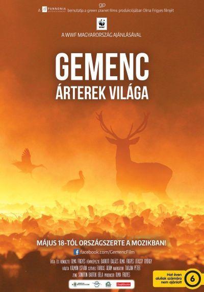 Gemenc - Az árterek világa – Plakát