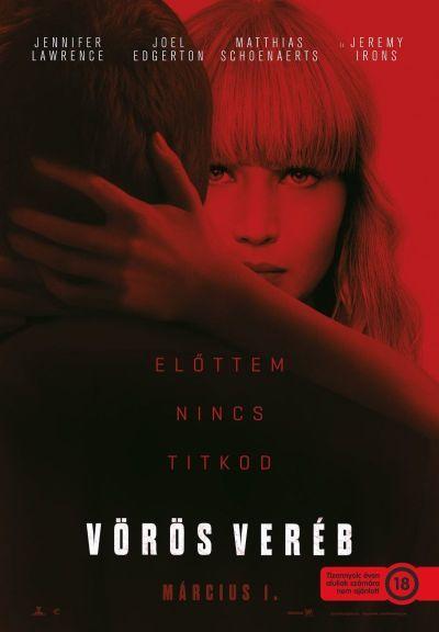 Vörös veréb – Plakát