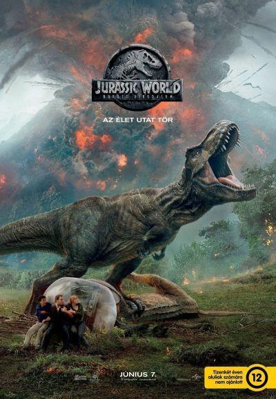 Jurassic World: Bukott birodalom – Plakát