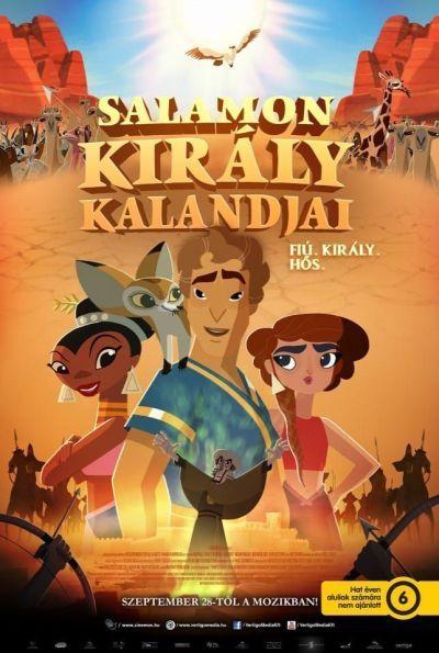 Salamon király kalandjai – Plakát