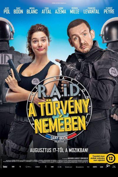 RAID - A törvény nevében – Plakát
