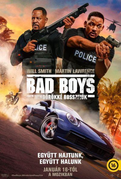 Bad Boys - Mindörökké rossz fiúk – Plakát