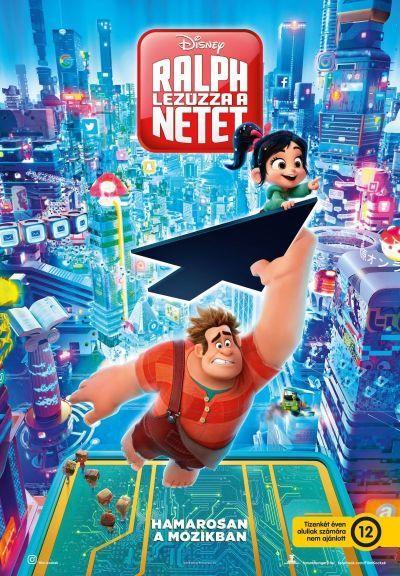 Ralph lezúzza a netet – Plakát