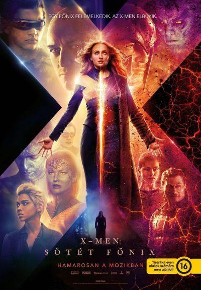 X-Men: Sötét Főnix – Plakát