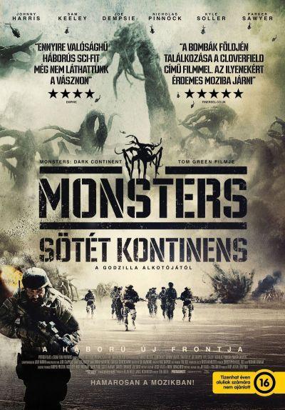 Monsters - Sötét kontinens – Plakát