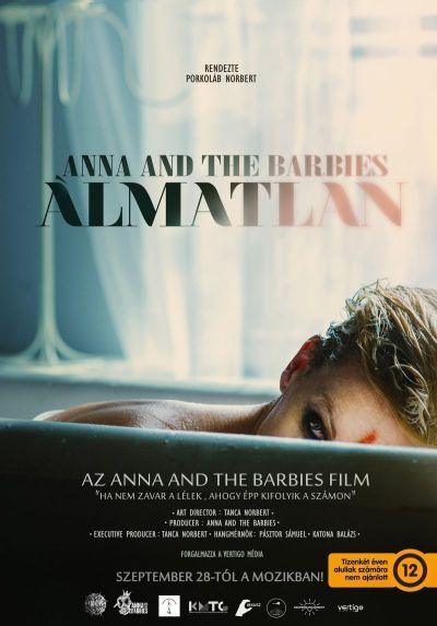 Anna and the Barbies - Álmatlan – Plakát