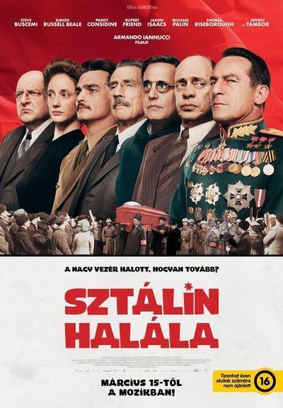 Sztálin halála – Plakát