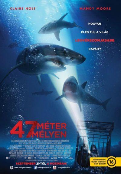 47 méter mélyen – Plakát